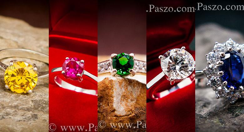 แหวนพลอยเงิน แหวนเงินฝังพลอย แหวนพลอยเงินแท้ แหวนเงินแท้ฝังพลอย
