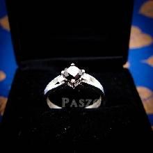 แหวนนิล แหวนเงินแท้ ฝังนิล อัญมณีสีดำ