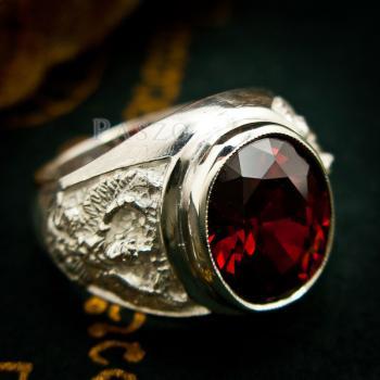 แหวนพญาครุฑ แหวนผู้ชาย แหวนเงินผู้ชาย #7