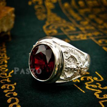แหวนพญาครุฑ แหวนผู้ชาย แหวนเงินผู้ชาย #8