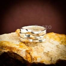 แหวนเงินแท้ แหวนเกลี้ยง
