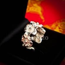 แหวนดอกไม้ แหวนเงินแท้925