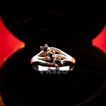 แหวนเงิน พลอยนิล  #3
