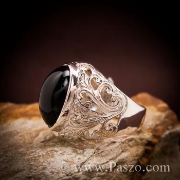 แหวนฉลุลาย แหวนนิล แหวนผู้ชาย #2