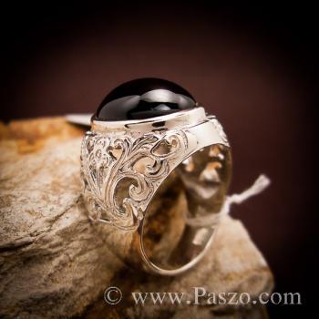 แหวนฉลุลาย แหวนนิล แหวนผู้ชาย #3