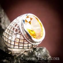 แหวนฉลุลาย แหวนพลอยสีเหลือง แหวนผู้ชายเงินแท้ แหวนบุษราคัม แหวนเงินแท้ แหวนฉลุลายตาข่าย แหวนผู้ชาย