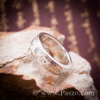 แหวนแกะลายไทย แหวนมุกดาหาร  #2