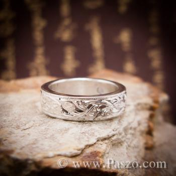 แหวนแกะลายไทย แหวนมุกดาหาร  #4