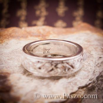 แหวนแกะลายไทย แหวนมุกดาหาร  #6