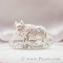 แหวนปีฉลู แหวนปีวัว แหวน12นักษัตร แหวนวัว แหวนเงินแท้