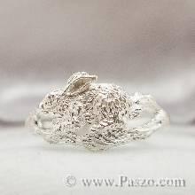 แหวนปีเถาะ แหวนปีกระต่าย แหวน12นักษัตร แหวนกระต่าย แหวนรูปกระต่าย แหวนเงินแท้