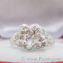 แหวนปีวอก แหวนปีลิง แหวน12นักษัตร แหวนลิง แหวนเงินแท้