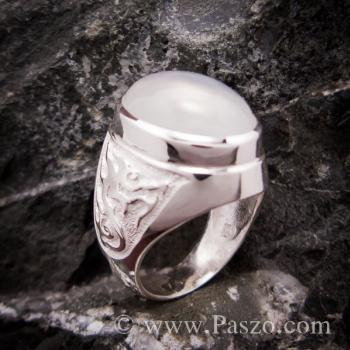 แหวนผู้ชาย แหวนมุกดาหาร แหวนเงินแท้ #3