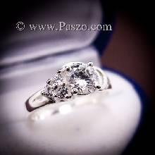แหวนเพชร แหวนเงิน แหวนเงินฝังเพชร
