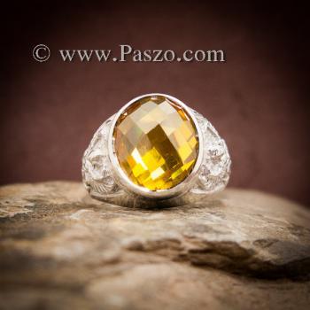 แหวนครุฑ แหวนบุษราคัม แหวนพญาครุฑ #4