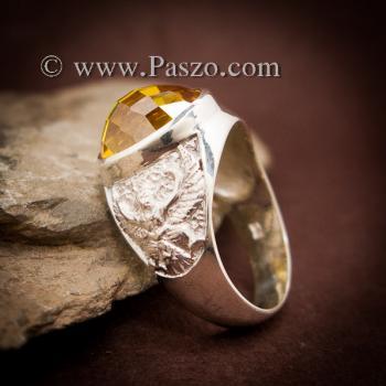แหวนครุฑ แหวนบุษราคัม แหวนพญาครุฑ #5