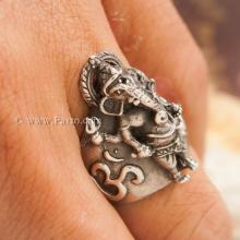 แหวนพระพิฆเนศ แหวนองค์พระพิฆเนศ แหวนเงินแท้ 925 แหวนขนาดเล็ก