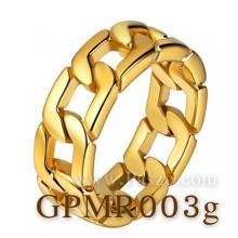 แหวนสแตนเลส ชุบทอง แหวนลายโซ่เลส แหวนฮิปฮอป แหวนชุบทอง