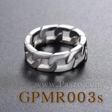 แหวนสแตนเลส แหวนลายโซ่เลส แหวนฮิปฮอป แหวนผู้ชาย