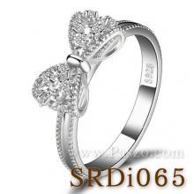 แหวนโบว์ แหวนเพชร แหวนเงินแท้