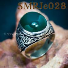 แหวนโมรา แหวนเงินผู้ชาย แหวนมอญ แกะสลักลายไทย แหวนเงินแท้ แหวนผู้ชาย
