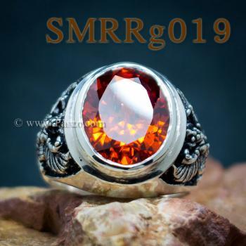 แหวนพลอยโกเมน แหวนครุฑ รมดำ #2