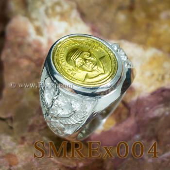 แหวนครุฑ เหรียญหลวงปู่ทวด แหวนผู้ชาย #5