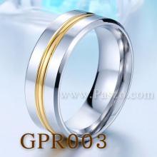 แหวนทองชุบ แหวนเกลี้ยง หน้ากว้าง8มิล แหวนสแตนเลส