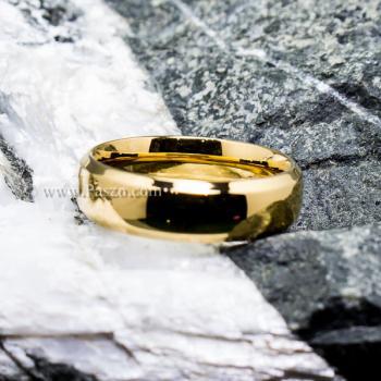 แหวนทองชุบ แหวนเกลี้ยง บ่าแหวนตะไบเฉียง #6