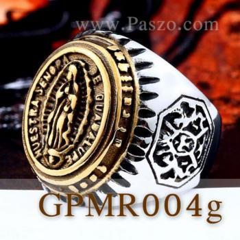 แหวนพระแม่มารี แหวนทองชุบ แหวนผู้ชาย #2