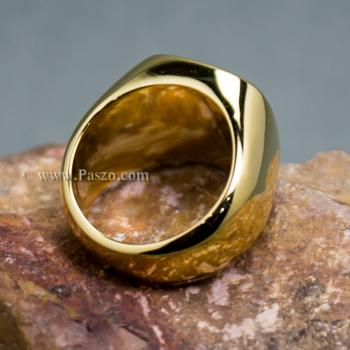 แหวนนิล แหวนผู้ชาย แหวนทองชุบ #5
