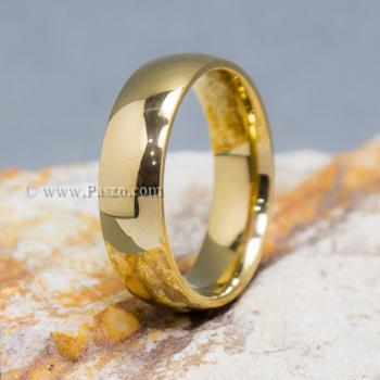 แหวนทอง แหวนเกลี้ยง แหวนหน้าโค้ง #2