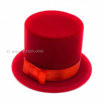 กล่องใส่แหวน หมวก กล่องกำมะหยี่ #2