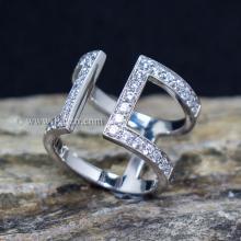 แหวนเพชร แหวนแฟชั่น แหวนเงินแท้