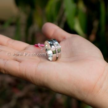แหวนเพชร แหวนไม้กางเขน แหวนเงินแท้ #6