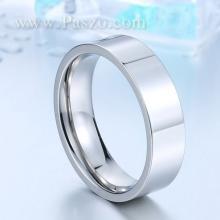 แหวนเกลี้ยง แหวนหน้าเรียบ หน้ากว้าง6มิล แหวนสแตนเลส