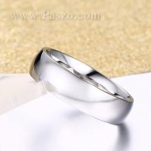 แหวนเกลี้ยง แหวนหน้าโค้ง แหวนกว้าง6มิล แหวนสแตนเลส