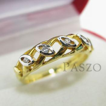 แหวนเพชร แหวนดวงตา แหวนทองชุบ #3