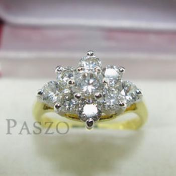 แหวนดอกพิกุล แหวนดอกไม้ แหวนทองชุบ #2