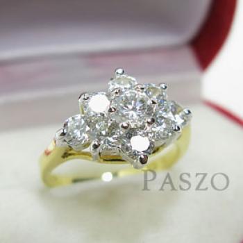 แหวนดอกพิกุล แหวนดอกไม้ แหวนทองชุบ #3
