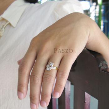แหวนหัวใจ แหวนเพชร หัวใจคู่ #4