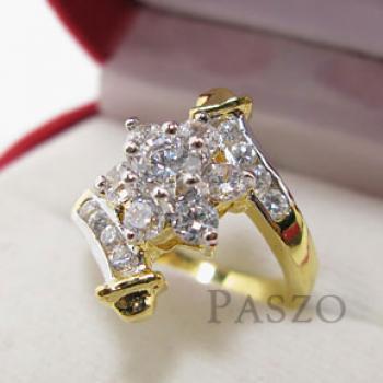 แหวนดอกพิกุล แหวนเพชร แหวนดอกไม้ #2