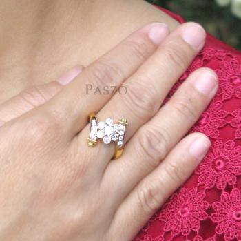 แหวนดอกพิกุล แหวนเพชร แหวนดอกไม้ #4