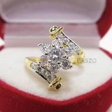 แหวนดอกพิกุล แหวนเพชร แหวนดอกไม้ แหวนทองชุบ