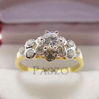 แหวนดอกไม้ แหวนเพชร แหวนหัวชู #3