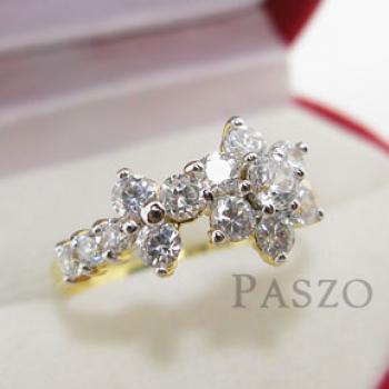 แหวนดอกไม้ แหวนดอกพิกุล แหวนเพชร #3