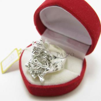แหวนพระพิฆเนศ แหวนองค์พระพิฆเนศ แหวนเงินแท้ #2