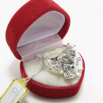 แหวนพระพิฆเนศ แหวนองค์พระพิฆเนศ แหวนเงินแท้ #3