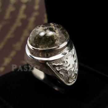 แหวนโป่งข่าม แหวนพลอยผู้ชาย แหวนแก้วปวก #2
