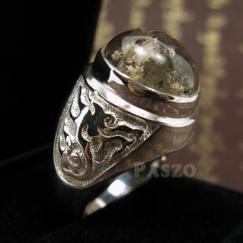 แหวนโป่งข่าม แหวนพลอยผู้ชาย แหวนแก้วปวก #3